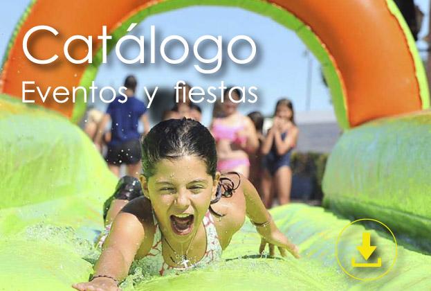 programa catálogo y fiestas