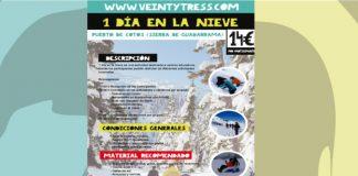 catalogo 1 dia en la nieve